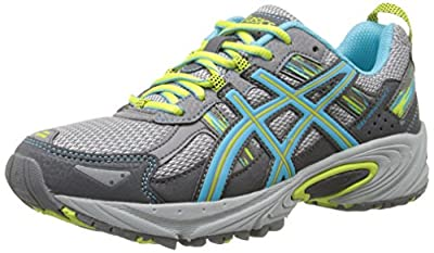 Rugged neutral runner in mesh with bright overlays GEL Cushioning System Removable foam sockliner accommodates orthotics Trail-specific outsole with multisurface traction High-abrasion rubber