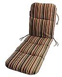 by Comfort Classics Inc. Sunbrella Outdoor Chaise Cushion in Brannon Redwood