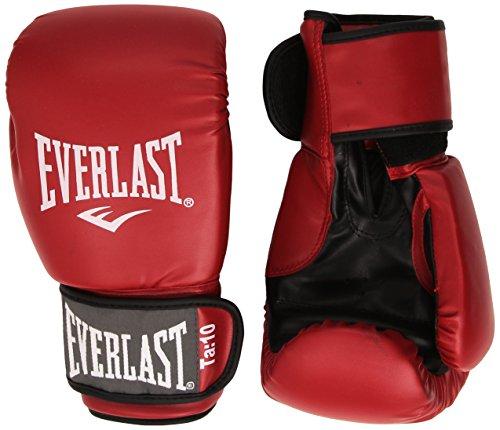 Everlast Rodney - Guantes de Boxeo, Color Rojo, Talla 16oz