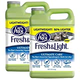 Cat's Pride Fresh and Light Ultimate Care Lightweight Unscented Hypoallergenic Multi-Cat Litter,...