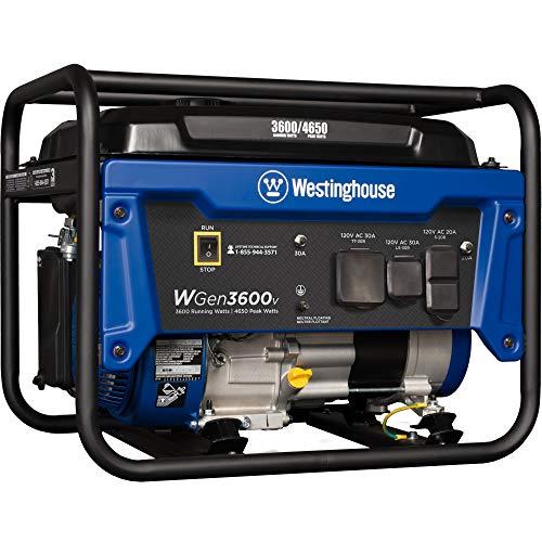Westinghouse Outdoor Power Equipment WGen3600v Portable Generator...