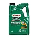 Castrol 03102 GTX High Mileage 5W-30 Motor Oil - 5 Quart