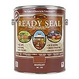 Ready Seal 130 1-Gallon Can Mahogany Exterior Wood Stain and Sealer