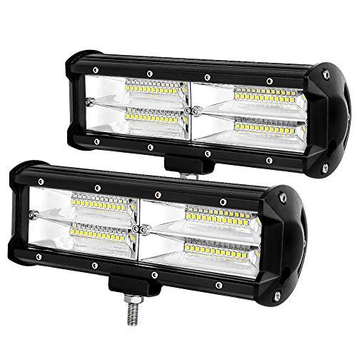 9' LED Light Bar 288W Led Pod Lights Offroad Fog Driving Lights Compatible with Trucks Pickup Jeep SUV ATV UTV