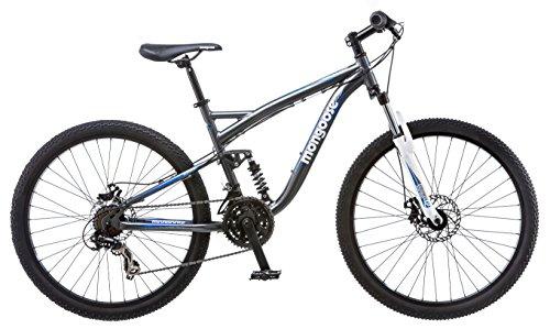 Mongoose Men's Detour Mountain Bike, 18-Inch/Medium