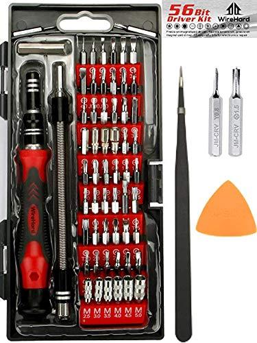 WIREHARD 62 in 1 Precision Computer and Smart Phone Repair Tool Kit,...