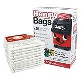 Numatic 604015 NVM-1CH Lot de 10 sacs pour aspirateur Hepaflo Henry