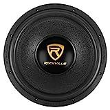 Rockville W15K9D4 15' 5000w Car Audio Subwoofer Dual 4-Ohm Sub CEA Compliant