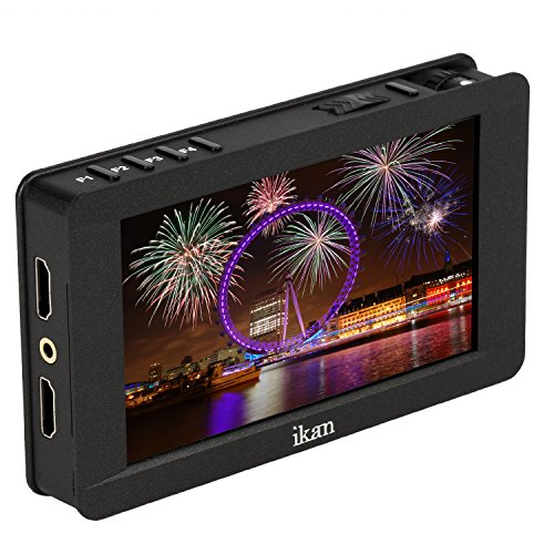 Ikan 5' 4K Support HDMI On-Camera Field Monitor with Touch...