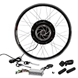 26inch 48V 1500W DC Brushless Gearless Motor /35A smart controller /Twist throttle or thumb throttle for Electric Bicycle Conversion Kits