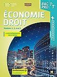 Ressources Plus - ECONOMIE-DROIT 1re Tle Bac Pro - Ed. 2020 - Livre élève