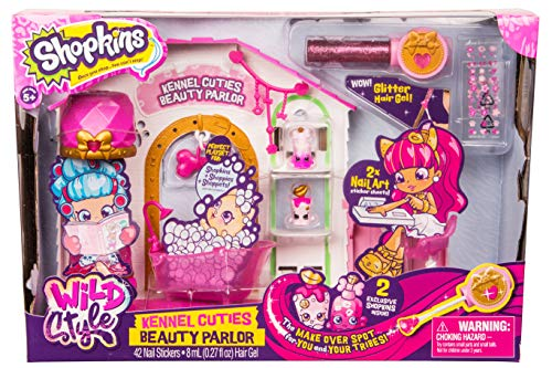 Shopkins Season 9 Wild Style - Kennel Cutie Beauty Parlor Playset