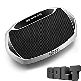 EILISON Bolt Vibration Plate Exercise Machine - Whole Body Workout Vibration Fitness Platform w/Loop Bands - Home Workout Equipment for Weight Loss, Toning & Wellnesss - Max User Weight 350lbs