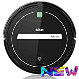 AIIBOT Robot aspirapolvere con sistema di pulizia a 3 stadi, sensore intelligente di arresto delle cadute, filtro HEPA, per appartamenti/casetta/pavimenti duri/tappeti (T289-black)