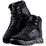 FREE SOLDIER Men's Tactical Boots 6 Inches Lightweight Military Boots for Hiking Work Boots Breathable Desert Boots (Black, 11.5)