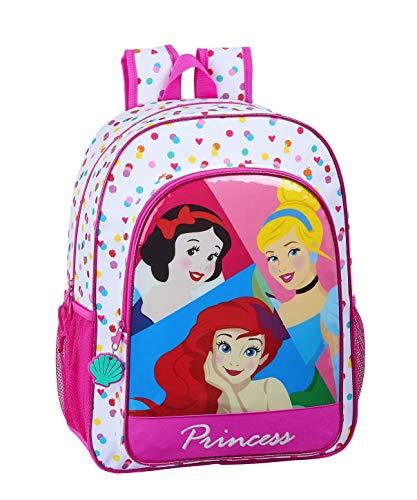 Mochila Safta Escolar Niños de Disney Princess, 330x140x420mm