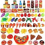 joylink 123 Pièces Jeu de Cuisine Legumes Fruits Jouet Alimentaire Jeu...