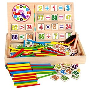 Wooden Mathematics Learning Toy for Kid in India 2021 | Mathematics games for kids