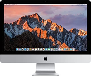 Apple iMac MNE92LL/A 27 Inch, 3.4 GHz Intel Core i5, 8GB RAM, 1TB Fusion Drive, Silver (Renewed)