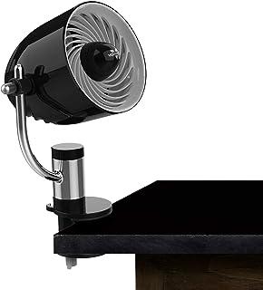 Vornado PivotC Personal Air Circulator Clip On Fan with Multi-Surface Mount, Black
