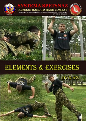 Hand-to-Hand Combat DVDs - 20 Self-Defense Training DVDs of Russian Martial Arts Systema Combat, Martial Art Instructional Videos 7