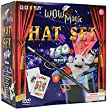 Click N' Play Magician Dress Up Magic Tricks Set for Kids Over 150 Tricks Includes Manual & DVD...