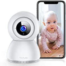 Victure 1080P FHD Baby Monitor with Smart Motion Tracking Sound Detection 2.4G WiFi Home..