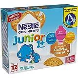 Nestlé Junior Alimento Lácteo Infantil con Galleta, Listo para Beber - Paquete de 3 x 200 ml - Total: 600 ml