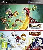 Jeu de plateforme sur PS3. Compilation des jeux Rayman Legends et Rayman Origins