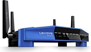 Linksys WRT AC3200 Dual-Band Open Source Router for Home (Tri-Stream Fast Wireless WiFi..