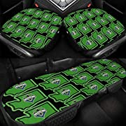 Size : Front Cars Seats Covers: 19.7 X 18.9 Inch, Rear Seat Mats: 48.4 X 18.9 Inch, Which Is Very Versatile For The Most Of Car Seats. High Quality : Made Of High Quality Ice Silk, Which Is Comfortable & Breathable Fabric. No Smell When Exposed To Hi...