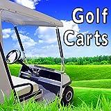 Gas Golf Cart Drives onto Trailer