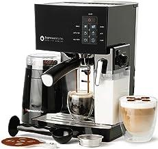 10 Pc All-In-One Barista Bundle Espresso Machine & Cappuccino Maker, 19 BAR Pump Set..