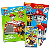 Paw Patrol Coloring Book Super Set -- 2 Coloring and Activity Books, Over 50 Stickers and Mini...