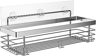 ODesign Shower Caddy Basket Shelf with Hooks for Shampoo Conditioner Bathroom Storage..