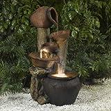 Tree Pot Outdoor-Indoor Fountain with Illumination