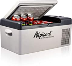 Alpicool C15 Portable Refrigerator 16 Quart(15 Liter) Vehicle, Car, Truck, RV, Boat, Mini..