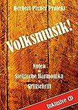 Volksmusik! Noten Griffschrift inkl. CD