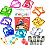 29pc Sandwich Cutter Set for Kids of All Ages - Turn Vegetables,...