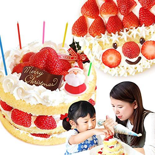 クリスマスケーキ 2019 Xmas ショートケーキ クリスマスケーキ5号 【プレート オーナメント付】お取り寄せ ...