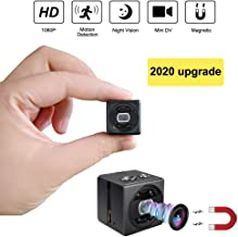 Mini Spy Camera cop cam HD 1080P Portable Small Nanny Cam Magnetic Security Camera with..