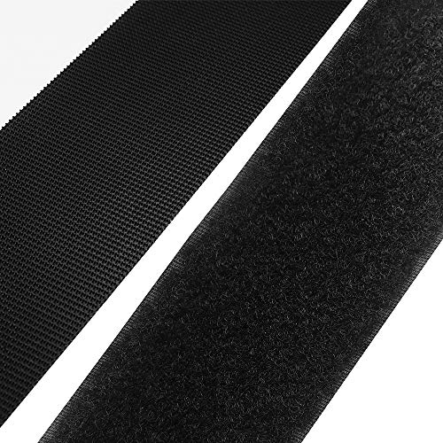 SOON GO Self Adhesive Hook and Loop Tape Strips 2 Inch x 5 Yards Heavy Duty Industrial Strength Fasteners Indoor Outdoor Use