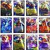 100 Poke Cards TCG Style Card Holo EX Full Art : 20 GX + 20 Mega + 1 Energy + 59 Ex Arts #1