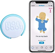 MonBaby Baby Breathing Monitor with Breathing, Rollover Movement and Temperature Sensors:..