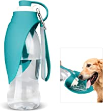 Dog Water Bottle for Walking, TIOVERY Pet Water Dispenser Feeder Container portable with..
