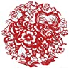 Shayier China 's Intangible Cultural Heritage Chinese Handmade Paper-Cut (Zodiac) #4