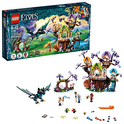 LEGO Elves The Elvenstar Tree Bat Attack 41196 Building Kit (883 Piece)