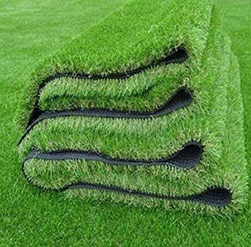 Kuber Industries High Density Artificial Grass Carpet Mat (4 x 6 ft, Green, GrassCT41)