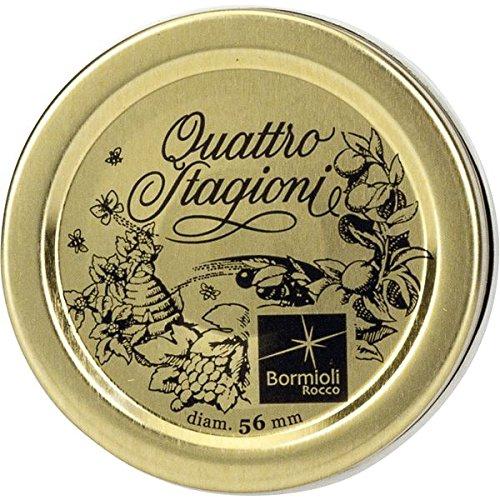 Rocco Bormioli Quattro Stagioni,1 set da 3 capsule , Oro