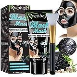 Maschera Nera Punti Neri, Blackhead Remover Maschera, Maschera di Comedone, Maschere Esfolianti e Detergenti, Pulizia profonda dei pori per pelle pulita,...